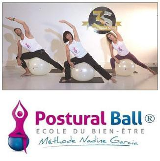 3personnes postural ball